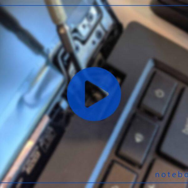 فیلم آموزش تعمیر لولای لپ تاپ